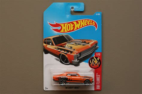 Wheels 68 Chevy Orange wheels 2017 hw flames 68 chevy orange