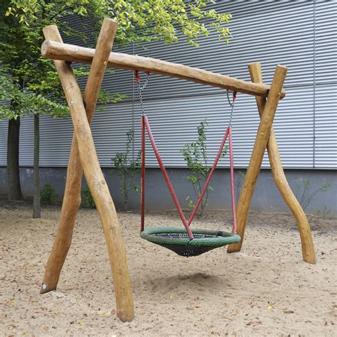 4 3 1 Swing With Basket Sik Holz