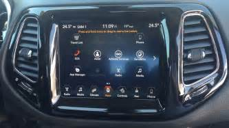 Jeep Compass Uconnect Uconnect 8 4 Touch Screen In The 2017 Jeep Compass