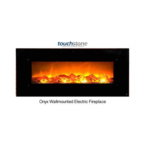 50 electric wall mounted fireplace touchstone onyx 50 inch electric wall mounted fireplace