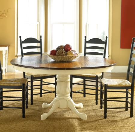 round cottage dining table for sale cottage bungalow