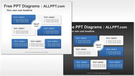 powerpoint templates free relationship matrix relationship ppt diagrams download free