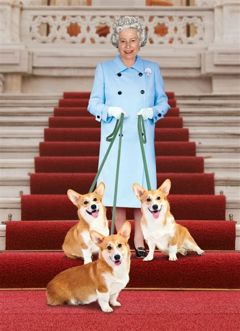queen corgi queen elizabeth with her corgis a famous people and pets