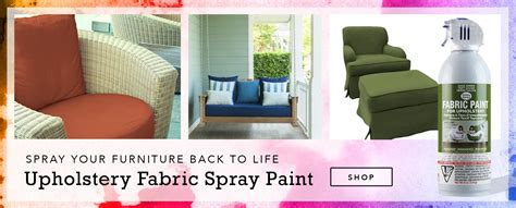 Can You Spray Paint Upholstery by Fabric Paint Spray M 233 Canisme Chasse D Eau Wc