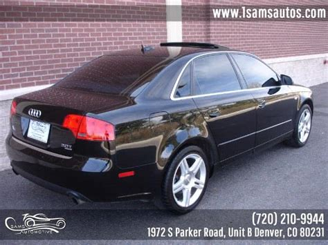 audi a4 2006 in denver fort collins colorado springs kansas city co sam s automotive 6376