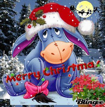 disney winnie  pooh christmas eeyore  borrowing wind sound book plush ebay