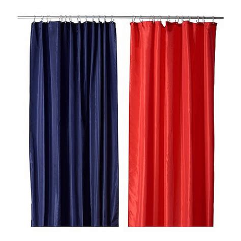 red and white striped curtains ikea ikea snoa sn 214 a fabric shower curtain red stripe tone on