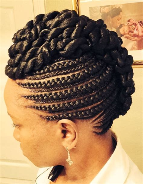 hairstyles in cornrows feed in cornrows http www blackhairinformation com