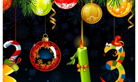 happy new year decorations wallpapers 800x480 154626