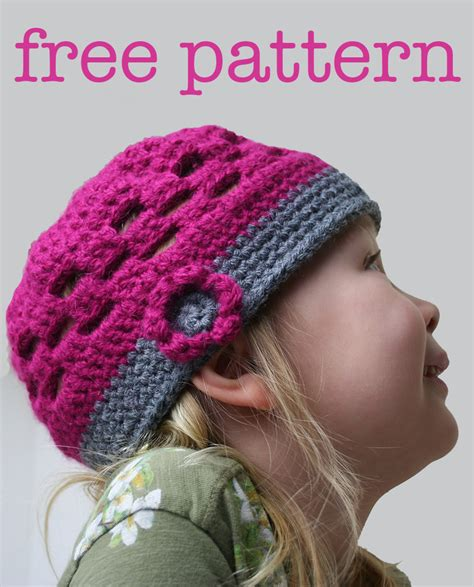 crochet kids crochet hat a free crochet pattern kate