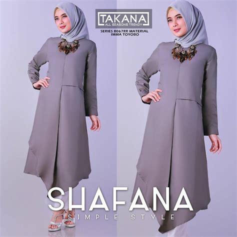 Gamis Dewasa Dress Muslim Baju Muslim Atasan model baju muslim 2018 terbaru trend fashion 2018 muslim gamis pesta atasan tunik lebaran 2018