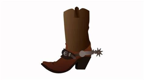 boot spurs a cowboy boot cowboy boots clip and cowboys