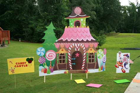 Candyland Outdoor Decorations the dukes family land