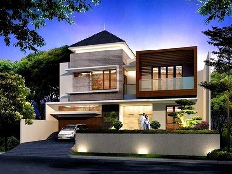 4 ide desain rumah mewah