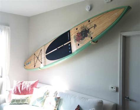 Diy Paddle Board Rack by Surf Design Decorating Ideas For The Surf Zone