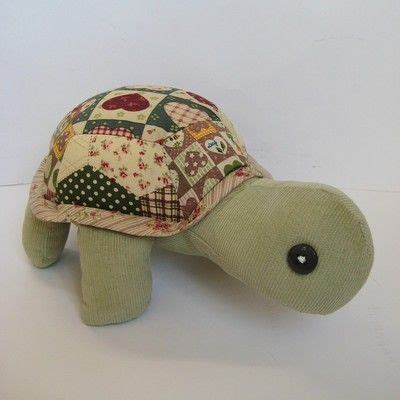 Patchwork Toys Free Patterns - patch the patchwork turtle sewing pattern pdf turtle