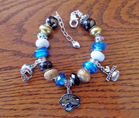 jacksonville jaguars european charm bracelet nfl