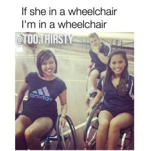 Wheelchair Jimmy Meme - wheel chair jokes kappit