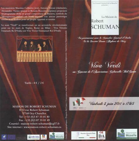 consolato italiano metz progetto bel canto gt agenda gt 2011