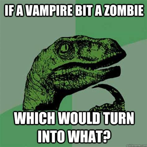 Turn Photo Into Meme - if a vire bit a zombie which would turn into what