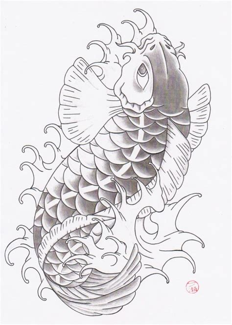 traditional japanese tattoo design traditional koi fish tattoomagz