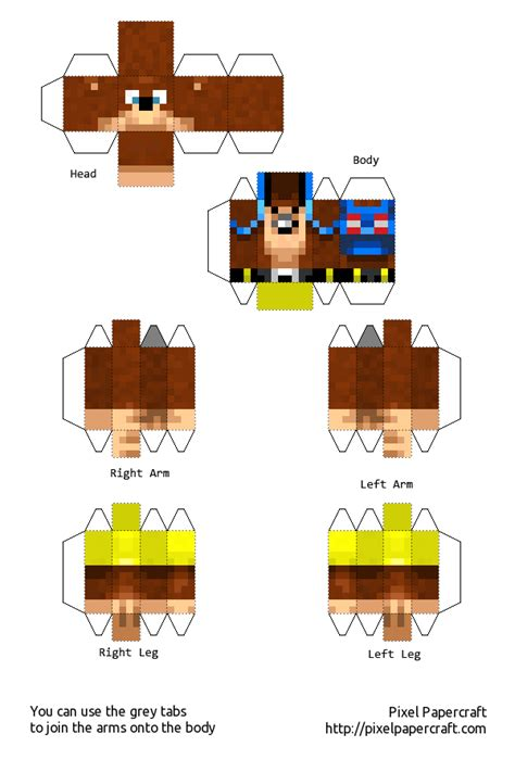 minecraft papercraft skins pictures to pin on