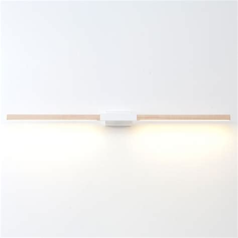 Horizontal Wall Sconce 4 Foot Horizontal Wall Sconce Modern Wall Sconces By