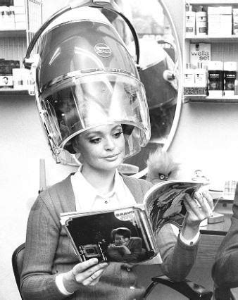 in curlers under dryer woman under the dryer france c 1968 dryer salons and