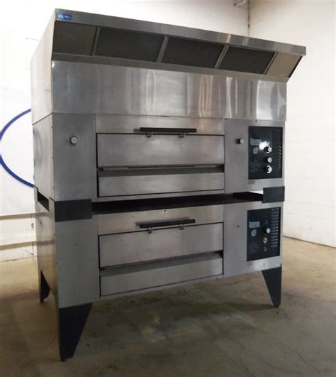 New Model Gas Deck Oven Bov Arf20h Oven Murah lang 2 deck pizza oven gas model gpo 2 pre owned gas deck ovens bakeryequipment is your