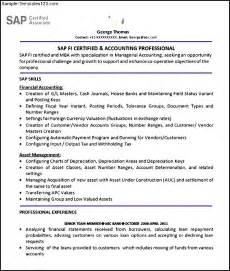 Sap Solution Manager Resume by Sap Fi Resume Bestsellerbookdb