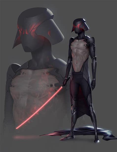 darth vader star war game 3d character design 29 fan s darth vader concept slims down mightymega