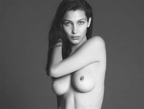 Bella Hadid Celebrity Slips Com