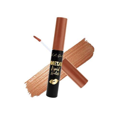 L A Metal Liquid Lipstick l a metal liquid lipstick copper 7ml makeup from