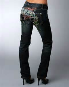 Ed hardy clothing for women some womens jeans as well