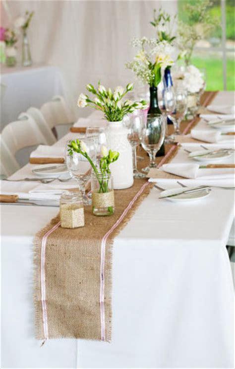 Hochzeitsdeko Ideen Tisch by Tisch Decken Mit Sackleinen Freshouse
