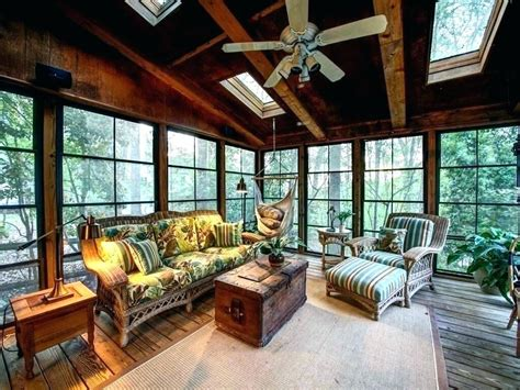 patio backyard enclosed porch creative  ideas house