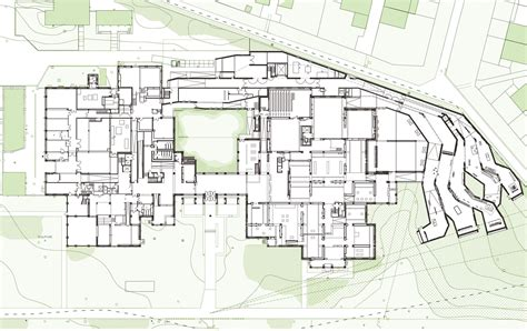 architectural plans for gallery of lille modern museum manuelle gautrand