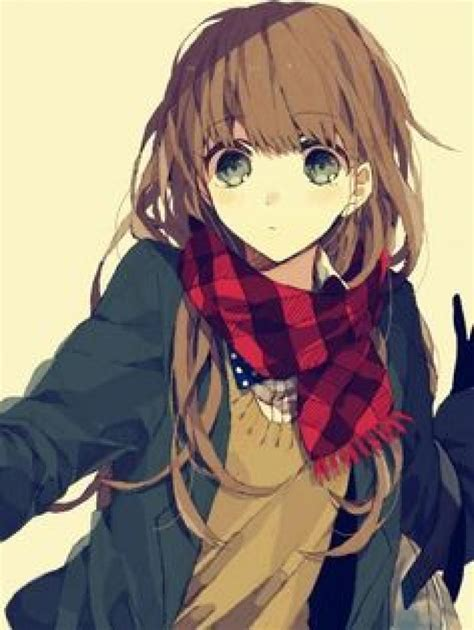 Cute Anime Girl Chrome Theme   ThemeBeta