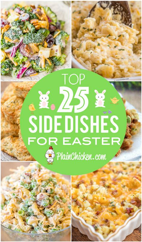 17 best images about recipies side dishes mac n cheese top 25 easter side dishes plain chicken