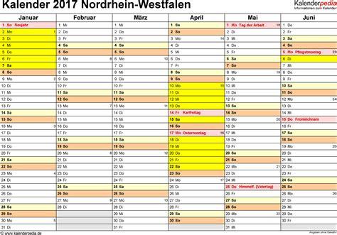 Kalender 2018 Nrw Vorlage Kalender 2017 Nrw Ferien Feiertage Pdf Vorlagen