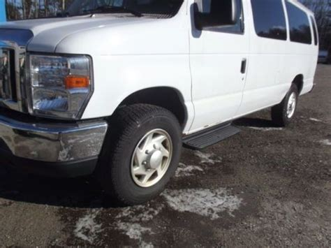ford truck with 3 rows of seats purchase used 2010 ford e series extended 3 rows of
