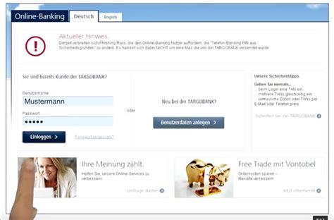 targo bank onlinebanking targobank premium kreditkarte