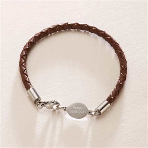 holy communion gifts for boys personalised boy s cord bracelet with engravable oval tag communion gift