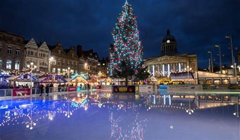 nottingham s christmas lights switch on 2017 christmas