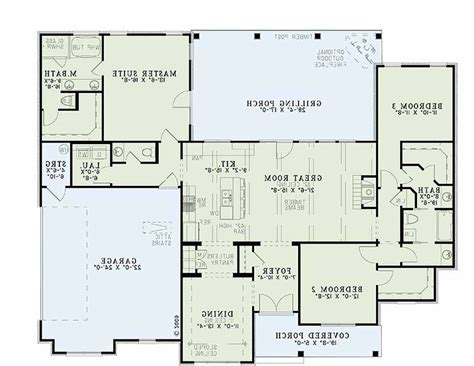 hacienda style floor plans hacienda style house plans