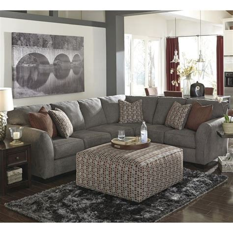 ashley furniture 3 piece sectional signature design by ashley furniture doralin 3 piece