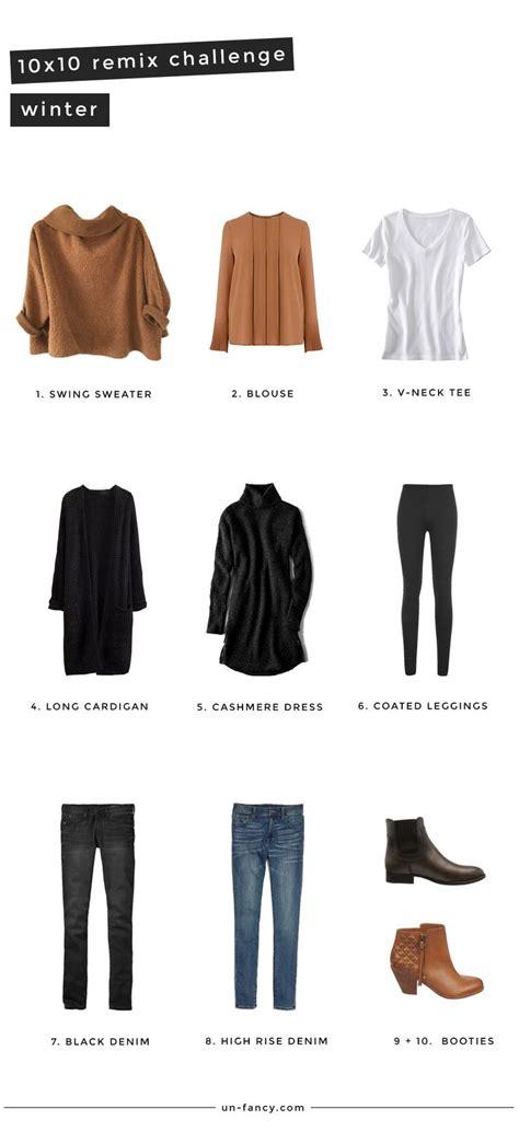 Fashion Newsletter Wardrobe Remix by 25 10 Wardrobe Ideas On Capsule