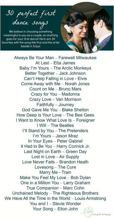 30 First Dance Song Ideas   Songs, Dancing and 30th