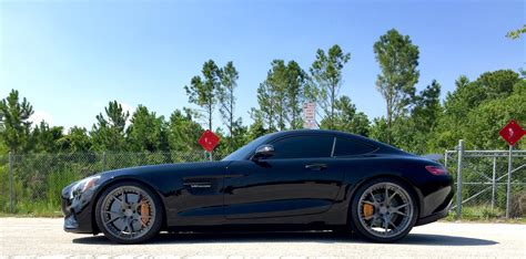 lowered amg my amg gts lowered with kw s mbworld org forums