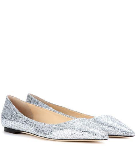 Flat Poxing Glitter Silver jimmy choo romy flat glitter ballerinas silver y3wowrwi 931 140 94 jimmy choo usa